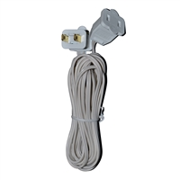 12ft Jumper Cord - White (QTY 24)