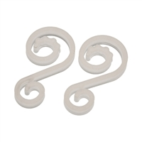 "Plastic ""S"" Hook (Qty 500)"