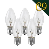 C9 Transparent Bulbs (1000 Qty)
