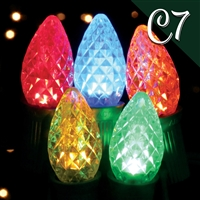 LED C7 Multi - Faceted (Qty 250)