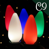 LED C9 Multi Opaque (250 qty)