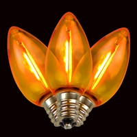 LED 25PK C7 Filament (Qty 500 bulbs)