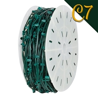 "C7 Cord - Green (SPT 1) - 12"" Spacing (1000')"