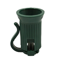 C7 Green Sockets (Qty 100)