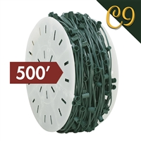 "C9 Cord - Green (SPT 1) - 12"" Spacing (500')"