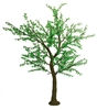8.5' Brown Bark Cherry Blossom Tree - LED Green