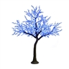 12' Commercial Cherry Tree - LED Pure White & Blue