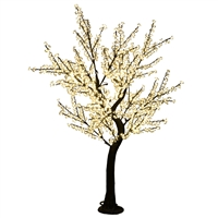 12' Commercial Cherry Blossom Tree - LED Warm White
