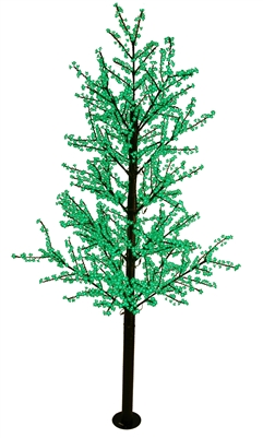 14' Commercial Cherry Blossom Tree - LED Green