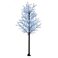 14' Commercial Cherry Blossom Tree - LED Pure White