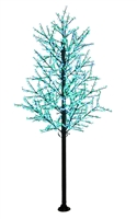 14' Commercial Cherry Blossom Tree - LED Pure White/Green