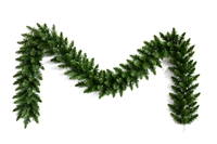 "Douglas Deluxe Fir Garland 9' x 12"" - Unlit (Qty 6)"