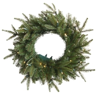 "Classic Frasier Fir Wreath 30"" -  Clear (Qty 6)"