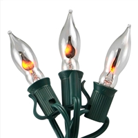 Flicker Flame Light set 10 bulbs