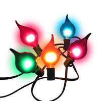 LED Multi Oh What Fun light strands