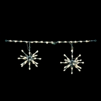 LED 3D Starburst Light Links (Warm White) (QTY 6)