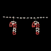 LED Candy Cane (Qty 6)