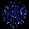 "LED 12"" 3D Shimmering Sphere - Blue (Qty 6)"