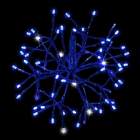 "LED 12"" 3D Shimmering Sphere (Qty 6)"