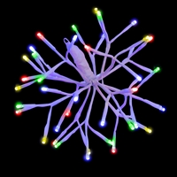 "LED 10"" 3D Starlight Cluster - Multi (Qty 15)"