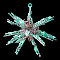 "LED 12"" 3D Starburst - Green"