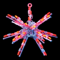 "LED 12"" 3D Starburst - Red"