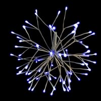 "LED 16"" 3D Starlight Cluster - Blue (Qty 12)"