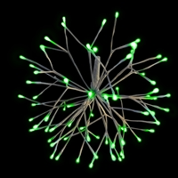 "LED 16"" 3D Starlight Cluster - Green (Qty 12)"