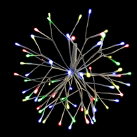 "LED 16"" 3D Starlight Cluster - Multi (Qty 12)"