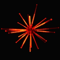 "LED 28"" Meteor Burst - Red"
