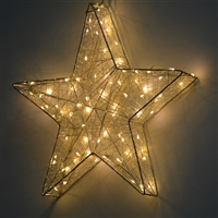 "3D 23"" Micro Star - Warm White (Qty 4)"