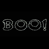 "LED ""BOO!"" Sign"