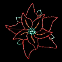 LED Poinsettia - Large
