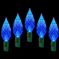 LED 50L Diamond Cut - Blue (Qty 12)