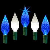 "LED Diamond Cut 6"" Spacing - Frozen Twinkle (Qty 12)"