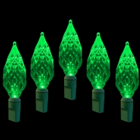 LED 50L Diamond Cut - Green (Qty 12)