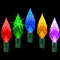 LED 50L Diamond Cut - Multi Twinkle (Qty 12)