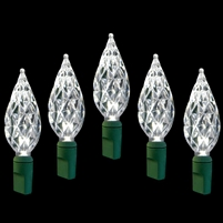 "LED Diamond Cut 6"" Spacing - Pure White (Qty 12)"