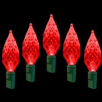 LED 50L Diamond Cut - Red (Qty 12)