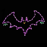 LED Small Flying Bat (Set of 2)