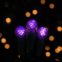 LED 50 Light G12 - Purple (QTY 12)