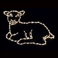 LED Nativity Lamb 2