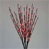 "LED 36"" Light Burst - Red (Qty 6)"