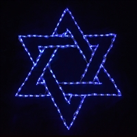 LED Star of David
