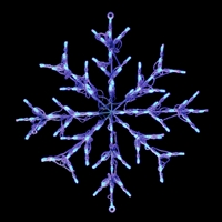 LED Snowflake - Blue