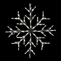 LED Snowflake - Pure White
