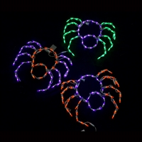 LED Small Spiders (Qty 3)