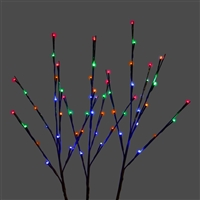 LED Twigs - Set of 3 - Multi (Qty 12)