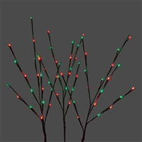LED Twigs - Set of 3 -Red/Green Combo (Qty 12)