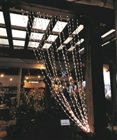Twinkling Curtain Lights - Warm White